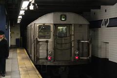 IMG_4173 (GojiMet86) Tags: mta ind nyc new york city subway train 1964 r32 3799 42nd street port authority bus terminal