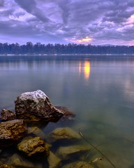Candle light made by overcast sky (CsiziPhoto) Tags: overcast danube river sunset landscape 1855mm fujinon velvia xt2 fujifilmxt2 fujifilm