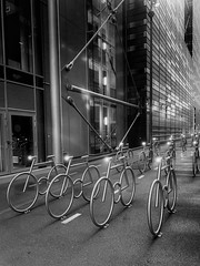 "Bike racks <a style=""margin-left:10px; font-size:0.8em;"" href=""http://www.flickr.com/photos/26019310@N00/33174310078/"" target=""_blank"">@flickr</a>"
