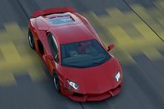 Lamborghini Aventador LP700 (BIBI Tornado) Tags: lamborghini aventador speed racing red