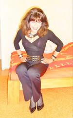 that was a waist (Katvarina) Tags: waisttraining tinywaist corsetwaist waistline tightlaced tightlylaced crossdresser crossdress crossdressed transgendered transgender transwoman transgirl tgirl kat