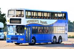 Ex CLP Herberts Travel Alexander Leyland Olympian FC7431 J605CEV ONT46 (Bus Roundel Hong Kong - Fb me!) Tags: ex clp herberts travel alexander leyland olympian fc7431 j605cev ont46