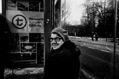 Portrait (cyp3rzemoc) Tags: portrait streetphotography street film filmisnotdead 35mm contax kodak bw
