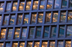 Grid (Bad Kicker) Tags: building absract pattern windows reflections