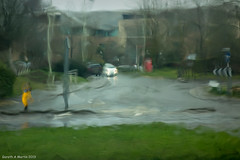 "Gareth's Photo of the Week 11 ""Rain abstract"""