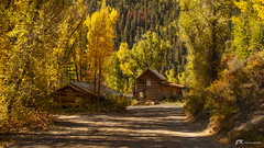 House at the End (James Korringa) Tags: telluride colorado scenic road autumn fall color building