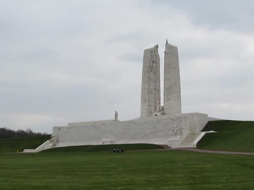Givenchy-en-Gohelle: Canadian National Vimy Memorial (Pas-de-Calais)