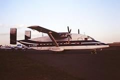 G-LEDN Short 330 Janes Aviation CVT 1991 (cvtperson) Tags: gledn short 330 janes aviation coventry airport cvt egbe