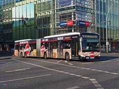 Mercedes Capacity L - Hochbahn 4702 (Pi Eye) Tags: mercedes o530 citaro capacity c2 capacityl articulé gelenk hambourg hamburg hochbahn vhh hvv bus