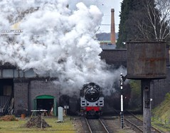Great Central Railway Loughborough Leicestershire 6th April 2019 (loose_grip_99) Tags: greatcentral railway railroad rail train loughborough leicestershire eastmidlands england uk gcr britishrailways standard 5 460 73156 preservation transportation steam engine locomotive smoke station gassteam uksteam trains railways april 2019