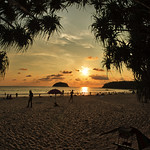 Kata Beach Sunset, Fish-eye thumbnail