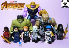 The Space Stone [Infinity War - #02] (HaphazardPanda) Tags: lego figs fig figures figure minifigs minifig minifigures minifigure purist purists character characters comics comic book books story group super hero heroes superhero superheroes marvel mcu avengers infinity war endgame captain america iron man spiderman machine falcon vision scarlet witch white wolf winter soldier okeye black panther shuri nomad widow thor bruce banner hulk groot guardians galaxy rocket raccoon gamora nebula doctor strange starlord quill drax mantis wong gauntlet stones thanos children ebony maw proxima