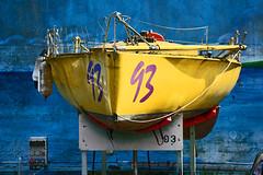 Yellow hors d'eau (Arnadel) Tags: yellow jaune bateau voilier ber le légué bretagne britany britain