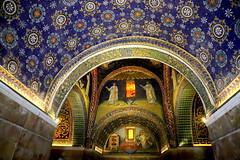 Mosaics of Mausoleum of Galla Placidia (annalisabianchetti) Tags: mosaics mosaici ravenna unesco italy travel art architettura architectur beautiful historic arte