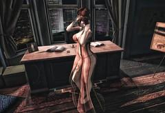 Missing You 💔 (ღ Sɑrɑɑh Drɑgoone ღ) Tags: secondlife gorgeous girl cute sexy lady brow love catwa maitreya tzposes pic photo bentoav sl window