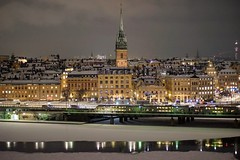Stockholm (daimak) Tags: stockholm sweden europe night lowlight citylights city oldtown winter cityscape urban sonyilce7