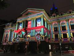 Melbourne City Christmas (Claudia M15) Tags: melbourne christmas christmaslights building