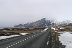 On The Road (Panasonikon) Tags: panasonikon canon powershota75 island iceland landschaft landscape winter schnee snow road strase reisen trip