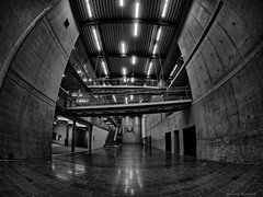 Far, tall and long (Only Snatches) Tags: abend architektur art bavaria bayern deutschland exotisch germany kunst langzeitaufnahme leere longshot nacht nachtaufnahme oberpfalz regensburg rokinon samyang75mm135fisheye skuril upperpalatinate walimex architecture bizarre bw cold empty evening exotic kalt night nightscene sw