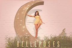 Soon@TLC (Antonia Millar / BellePoses) Tags: tlc lunna moon lua belleposes bento girls cute spring vintage flower backdrop sl second life