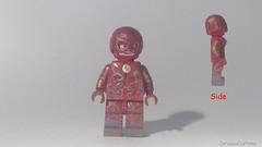 Custom LEGO DC: Flash (V2) (Caruana Customs) Tags: flash custom lego minifigure dc comics wally west barry allen titans teen nightwing rebirth