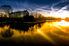 Sunset (Maria Eklind) Tags: hovrätten skåne sky hovrättenöverskåneochblekinge sunset himmel solljus solnedgång sweden outdoor cityscape highcourt city malmö skånelän sverige se