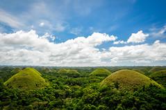 Chocolate Hills - Bohol - Philippines (Valdy71) Tags: philippines filippine chocolate hill green verde color landscape travel nikon valdy nature