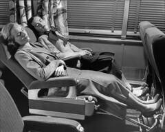 CB&Q Heywood-Wakefield Seat (Chuck Zeiler 52) Tags: cbq burlington railroad heywoodwakefield seat recliner jesseehartman budd passenger car chz people sleepyhollow