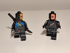 Don't own the official LEGO Deathstroke (clra2) Tags: lego superheroes deathstroke batman dc minifigures