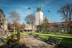 Civic Centre, Newcastle upon Tyne, UK (KSAG Photography) Tags: architecture government building design park newcastle newcastleupontyne tyne tyneandwear england uk europe britain unitedkingdom city urban wideangle hdr nikon february 2019