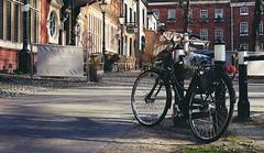 Tombland - Norwich - Norfolk (suzyhazelwood) Tags: bike bicycle streets street norwich norfolk tombland uk