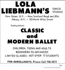 Lola  Liebmann dance school  1967 (albany group archive) Tags: 1960s 185 allen north old albany ny vintage photos picture photo photograph history historic historical