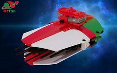 Octan Seeker (David Roberts 01341) Tags: lego ldd mecabricks render technic space spaceship octan microscale scifi