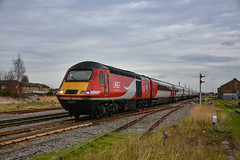 43257 + 43238 - March - 12/01/19. (TRphotography04) Tags: london northeastern railways lner hst 43257 43238 pass march with diverted 1s20 1246 kings cross aberdeen