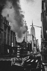 5th Avenue (gonzo4474) Tags: 5thave nycstreets streetphotographer streetphotography empirestatebuilding nyc blackandwhite newyork
