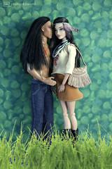 everyone loves shania (photos4dreams) Tags: barbie toy doll dress kleid kleidung photos4dreams p4d photos4dreamz mattel spielzeug puppe püppchen fashionistas fashionista canoneos5dmark3 indian nativeamerican shania ken