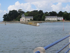 Douarnenez. Ile Tristan, the island of ancient romance. (Traveling with Simone) Tags: tristanetiseult tristanandiseult island folklore history myth buildings douarnenez brittany bretagne finistère france water atlantic ocean jetée coast côte tristanisolde legends love tutuarn