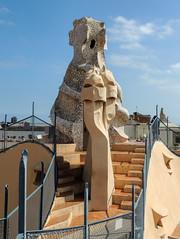 Casa Milà/La Pedrera (dckellyphoto) Tags: lapedrera casamilà 2015 barcelona spain catalonia antonigaudí gaudi architecture building