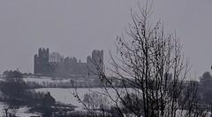 Riber Castle. Winter. Jan 2019 (SimonHX100v) Tags: ribercastle castle gradeiilistedcountryhouse gradeiilisted matlock derbyshire smedleysfolly matlockbath derbyshirepeakdistrict peakdistrict peakdistrictderbyshire peakdistrictnationalpark chimney chimneys unitedkingdom uk england english greatbritain gb britain british eastmidlands history historic historicengland gradeii gradeiilistedbuilding simonhx100v sonyhx100v hx100v sony outdoor outdoors outside season seasons winter winter2019 january january2019 snow snowfall snowing cold