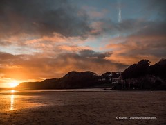 Sunset over Caswell Bay 2019 01 25 #42 (Gareth Lovering Photography 5,000,061) Tags: sunset sun sunny sunshine caswell gowercoast gower swansea wales seaside landscape beach walescostalpath olympus penf garethloveringphotography