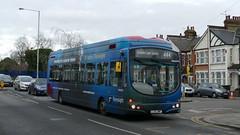 No Riverside For This Hydrogen (londonbusexplorer) Tags: tower transit wrightbus pulsar hydrogen bus wsh62996 lj13jwp 444 turnpike lane chingford station tfl london buses