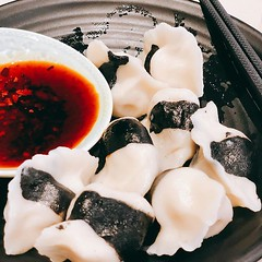 Dumplings with style #offyear #celebration #food #dumplings