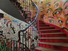 59 Rivoli, collectif d'artistes - 59 rue de Rivoli, Paris Ier (Yvette G.) Tags: 59rivoli streetart fresquemurale paris paris1 ruederivoli escalier 1mois1thème