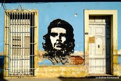 Che Guevara Street Art, Trinidad, Cuba (Andrew Parmanand) Tags: trinidad cuba guevara cheguevara graffiti streetart che