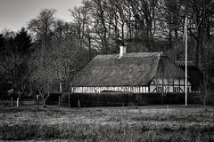 IdyL (Svendborgphoto) Tags: country house architecture aisnikkor ais monochrome manualfocus building woods bw denmark d800 dof detail blackandwhite mono 1352 135mm f2 winter nature old