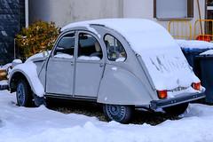 Vom Aussterben bedroht: die SchnEEEnte (Werner Schnell Images (2.stream)) Tags: ws scheeente ente citroen 2 cv winter schnee snow freudenberg schneeente