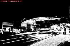 """Haltestelle"" (Cologne Cam Authentic Art) Tags: art kunst urban city street streetshot streetphoto streetphotography people blackandwhite blackwhite bw schwarzweiss monochrome light contrast bwphotography abstract köln cologne keulen germany"