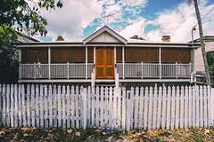New Farm Queenslander (Leighton Wallis) Tags: sony alpha a7r mirrorless ilce7r 1635mm f40 emount brisbane newfarm qld queensland australia queenslander architecture home house fence pickets