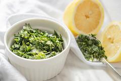 Gremolata (skilletsandpots) Tags: food meal recipes halthyrecipes