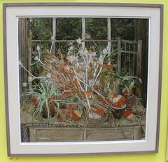Gardener's World - Autumn - Olwyn Bowey (chrisw09) Tags: gardenersworldautumnolwynbowey royal acadamy summer exhibition 2018 painting spiderplant art